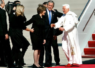 Bush meets Pope